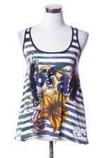 M Desigual Damenblusen, - tops & -shirts mit Rundhals-Ausschnitt