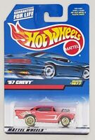 HOT WHEELS '57 CHEVY DIE-CAST VEHICLE COLLECTOR #1077 MATTEL 1998