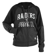 "Oakland Raiders Women's New Era NFL ""TD Play"" Tri-Blend Hooded Sweatshirt"