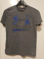 UNDER ARMOUR Heatgear Girls Activewear T-Shirt Size L Youth Athleisure Casual
