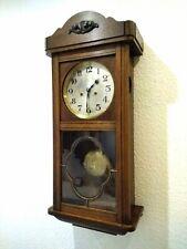 Antiker Gustav Becker Regulator Wanduhr Pendeluhr um ca. 1910 Bim Bam Clock Uhr