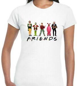 GRINCH FRIENDS  WOMEN T-SHIRT CHRISTMAS MOVIE FILM TV FESTIVE XMAS GIFT PRESENT