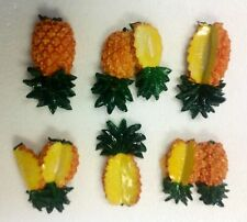 magnets Pineapple Kitchen home refrigerator bistro Bar fridge