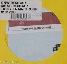 Tichy Train Group O #10120O CNW Boxcar 40' SS Boxcar (O Scale)