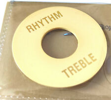 Rhythm/Treble Toggle Plate Creme Relic LP style Gibson Les Paul Cream EL14CAged