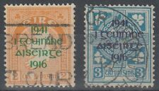 IRELAND 1941 EASTER RISING USED PAIR (ID:467/D57519)