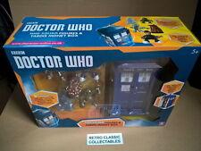 Doctor Who Time Squad figures & Tardis Moneybox