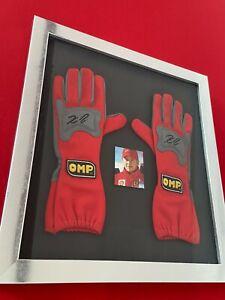 Kimi Raikkonen signed OMP racing gloves 2007 COA
