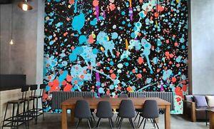 3D Watercolor Graffiti R679 Wallpaper Wall Mural Self-adhesive Commerce Kay