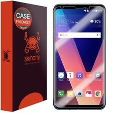 Skinomi Case Friendly (2-Pack) Clear Screen Protectors For LG V30