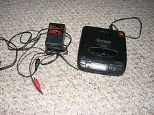 SONY Discman Mega Bass Portable CD Player Compact Player