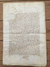 1522 Spanish Conveyance for Houses in Calle de la Silleria-See translation below