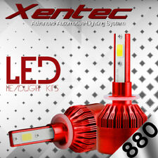 XENTEC LED HID Foglight kit 885 White for 1994-1998 Oldsmobile Achieva
