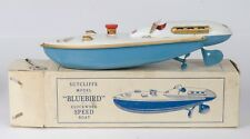 Sutcliffe Toys Bluebird Malcolm Campbell K3 Speed Boat. Boxed. Original 1950's.