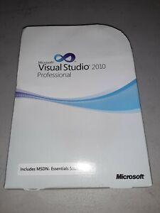 Microsoft Visual Studio 2010 Professional Pro full retail GENUINE C5E-00521