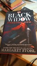 Black Widow : Forever Red by Margaret Stohl (2015, Hardcover) Signed 1st/1st