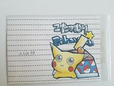 Japanese Pokemon Surfing Pikachu Promo Card No. 025 ANA 98