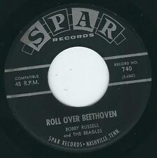 TN Rockabilly Bobby Russell SPAR 740 Roll over Beethoven / Right or wrong ♫