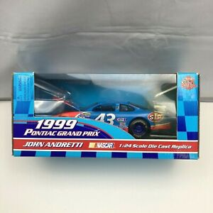 Racing Champions 1:24 1992 Diecast Car #43 John Andretti  STP 1999 Grand Prix*