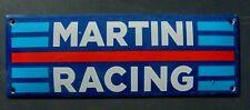 Martini Racing    Emailschild Emaille Schild enamel Sign,,,-