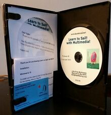 Learn to Sail! Interactive CD DVD VOL I & II for Windows ~ Great Sailing Gift!
