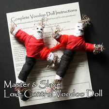 Master Slave Love Romance Sex Commitment Control Voodoo Ritual Doll Set Totems