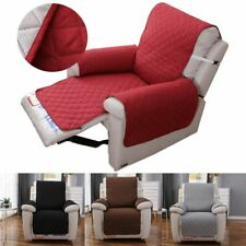 Anti-Slip Recliner Chair Cover for Leather Slipcover Pet Dog Protector Gifts Us