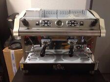Kaffeemaschine Royal Tecnica Espressomaschine 2 gruppig, Made in Italy, Eiscafe
