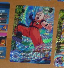 DRAGON BALL Z DBZ DBS HEROES CARD PRISM HOLO CARTE H7-CP7 CP MADE IN JAPAN NM>M