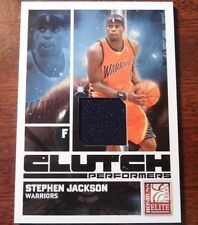 STEPHEN JACKSON 2009 ELITE CLUTCH PERFORMERS PATCH CARD SERIAL NUMBER 290/299