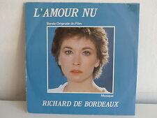BO Film OST L amour nu RICHARD DE BORDEAUX A6564