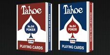 2 decks of Arrco Tahoe red-blue playing cards NEW S099952913/14-A
