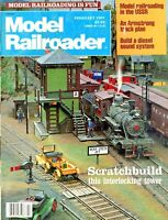 Model Railroader Magazine - February 1991