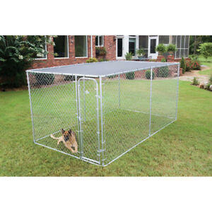 Petsafe Sun Block Top Roof to fit Outside kennel Accessory, BLACK 2.29m x 2.29m