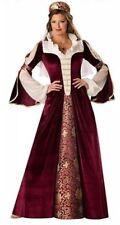 Womens Elegant Empress Costume Medium Dress Victorian Halloween Incharacter NEW