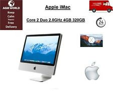 "Apple iMac A1224 20"" Core 2 Duo 2.00GHz 4GB 320GB Nvidia 9400 OSX El Capitan"