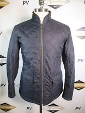 E7609 VTG BARBOUR LEDGER Full-Zip Quilted Jacket Size M