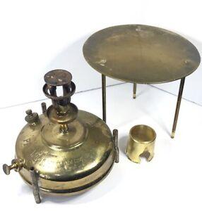 Vintage PRIMUS NO 51 Brass Stove SWEDEN B A HJORTH Roarer Paraffin Kerosene Camp