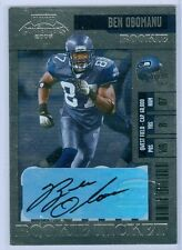 2006 Playoff Contenders Rookie Ticket Ben Obomanu Auto Rc