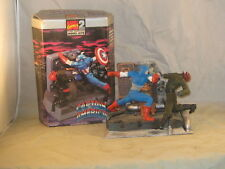 captain america, ghost rider,plastic model kits, toybiz, Marvel super heros