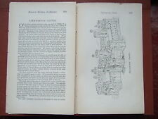 1884 Caernarvon Castle, Military Architecture - Illustrated