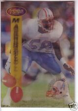 1994 Sportflics HOUSTON OILERS Team Set (5) GARY BROWN / ERNEST GIVENS +