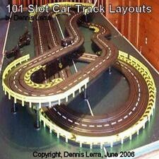 101 Slot Car Track Layouts - VOL. 1 - CD for Strombecker, Revell, Artin, Carrera