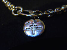 """NEW 9"""" SOLID .999 PURE SILVER MENS TIGHT LINK BRACELET ANARCHY PM JEWELRY #A25"""