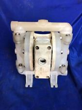 "Wilden MODEL# P100 Original Plastic Diaphragm Pump 1/2""Inlet and Outlet W/ Teflo"