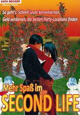 Mehr Spaß im SECOND LIFE - Lösungsbuch, deutsch | NEU