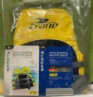 Crane Life Jacket Junior Buoyancy Vest PFD Type 2 Child 22-40kg Yellow Brand New
