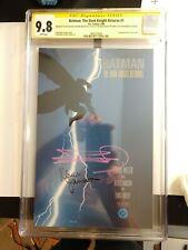 BATMAN THE DARK KNIGHT RETURNS 1 CGC 9.8 SS Signed by MILLER & JANSON 1st Print