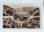 D2419cgt UK Boscombe Multiview RP vintage postcard