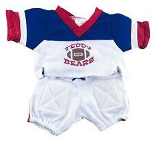 "USA Football Outfit Fits Build A Bear Workshop 12"" - 16"" Teddy Bears, Clothes"